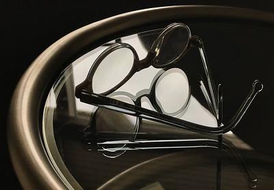 Glasses & Reflection, Portland, 2018