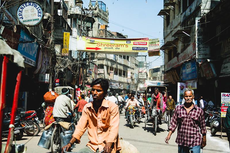 Varanasi Street Traffic