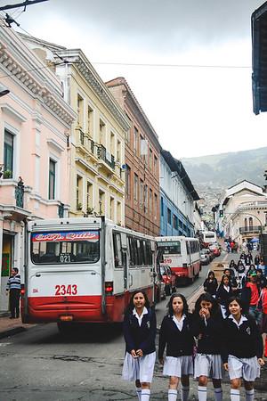 Quito Schoolgirls