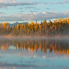 Morning Mist Rising - Autumn in the Yukon is always spectacular. This small lake in Kluane National Park was especially beautiful with the autumn colours and the morning light.