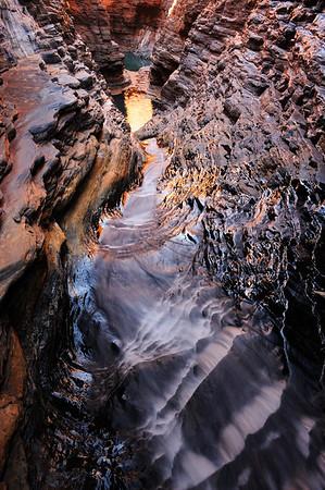 Golden Tumble - Karijini National Park, Western Australia