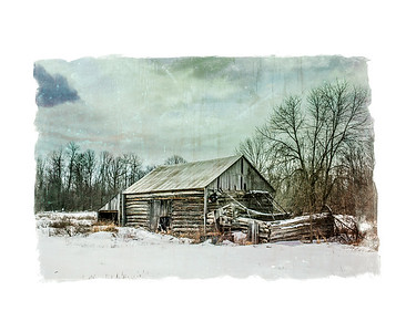 Old Log Barn  - JP Lacasse