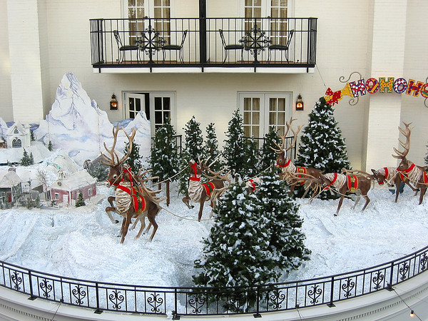 Christmas at the Opryland Hotel, Nashville, Tennessee (1)