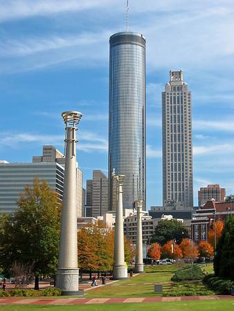 Autumn Scene in Atlanta, Georgia (1)