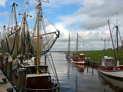 Greetsiel Harbor, Germany (1)