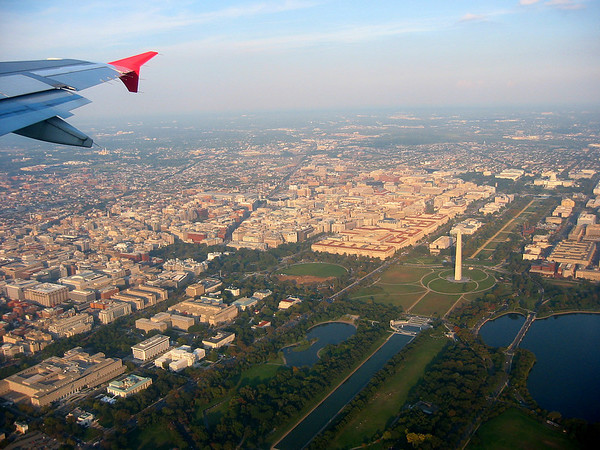 Aerial View, Washington DC