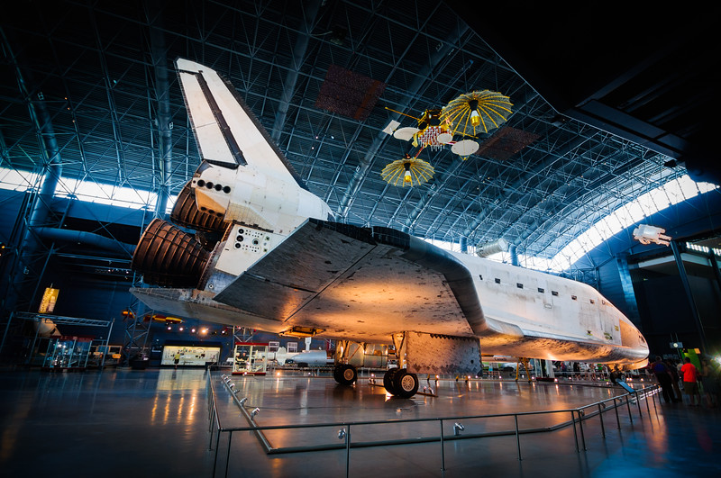 Discovery Shuttle at Udvar-Hazy Center, Virginia