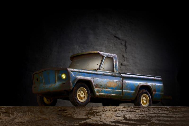 Blue Tonka Truck