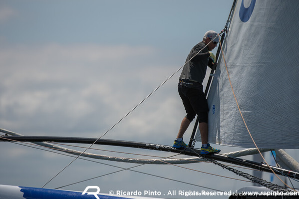 06/07/2012 - Porto (PT) - Extreme Sailing Series Act 4 - Day 2