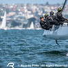 Practice day 0 for Extreme Sailing Series in Sydney, Australia