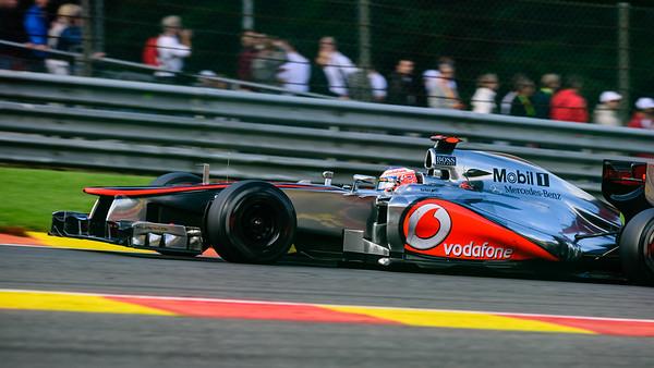 Practice Three - Jenson Button - Car 3 - MP4-27 - Hard Tyres - Vodafone Mclaren Mercedes