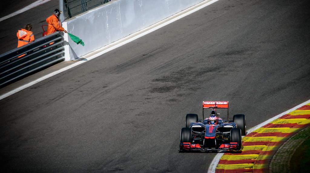 Practice Three - Jenson Button - Car 3 - MP4-27 - Medium Tyres - Vodafone Mclaren Mercedes