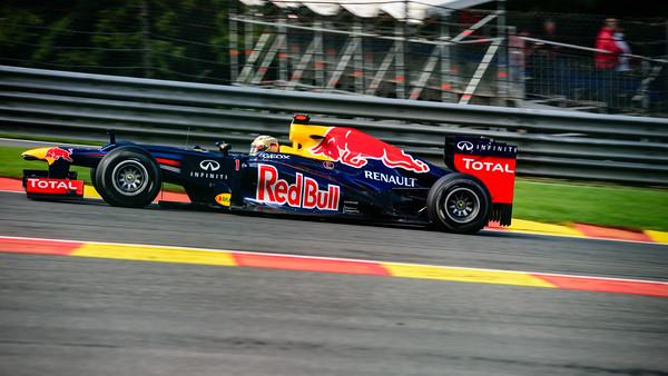 Practice Three - Sebastian Vettel - Car 1 - RB8 - Hard Tyres - Red Bull Racing