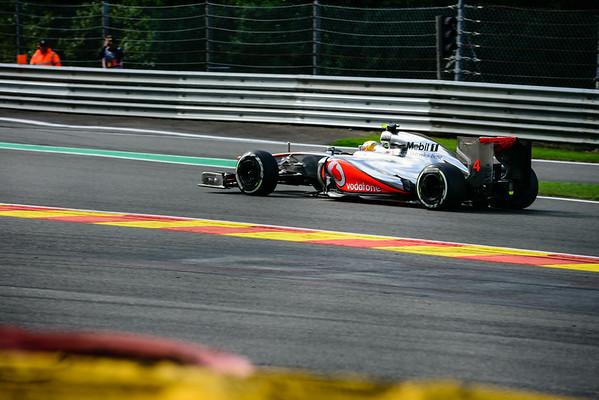 Practice Three - Lewis Hamilton - Car 4 - MP4-27 - Medium Tyres - Vodafone Mclaren Mercedes
