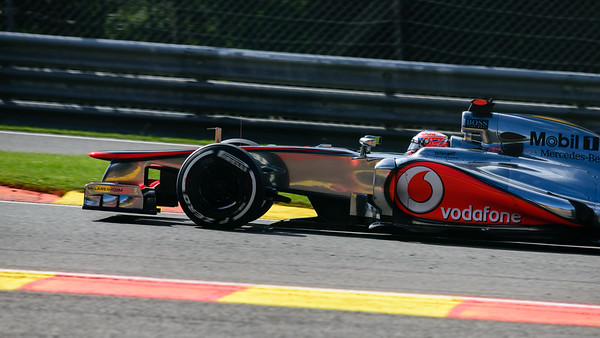 Qualifying - Jenson Button - Car 3 - MP4-27 - Medium Tyres - Vodafone Mclaren Mercedes