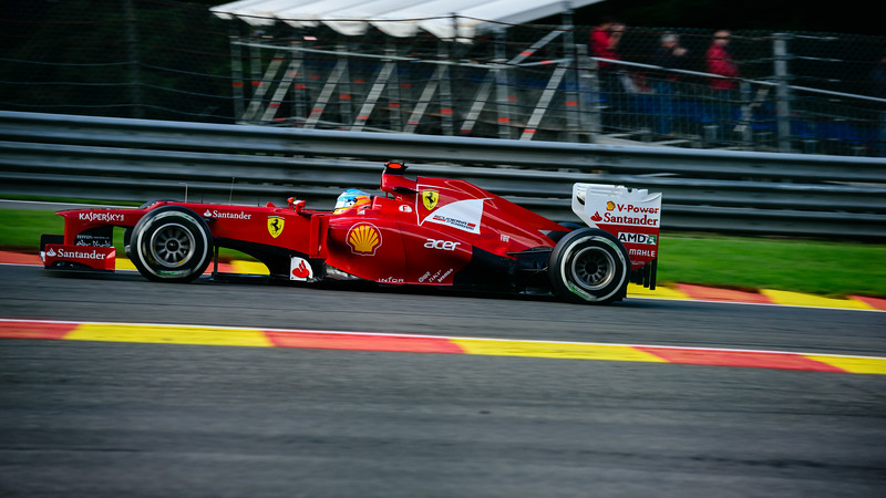Practice Three - Fernando Alonso - Car 5 - F2012 - Medium tyres - Scuderia Ferrari