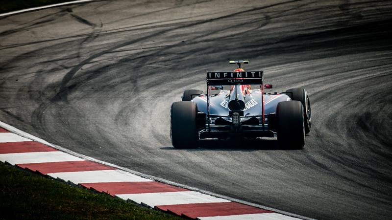 Practice Two - Daniel Ricciardo - Car 3 - RB10 - Medium Tyres - Infiniti Red Bull Racing