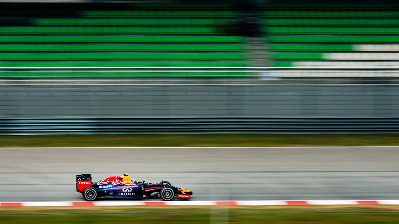 Practice Two - Daniel Ricciardo - Car 3 - RB10 - Medium Tyres - Infiniti Red Bull Racing