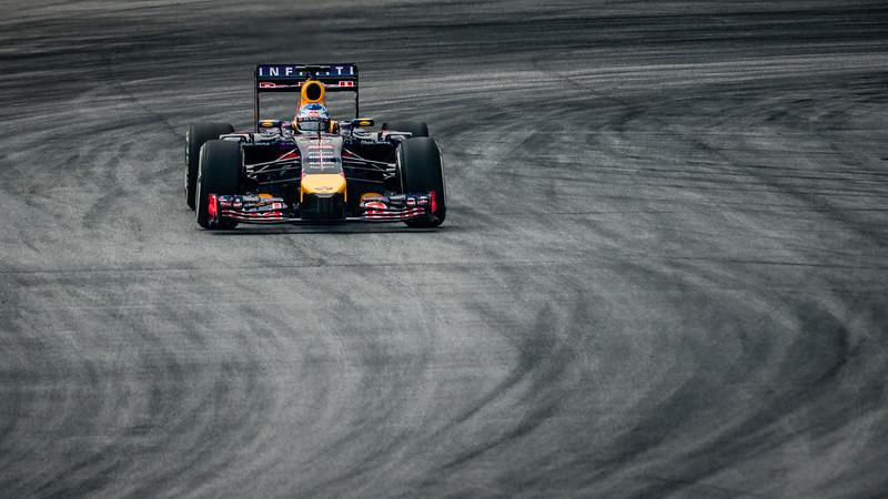 Practice Two - Sebastian Vettel - Car 1 - RB10 - Medium Tyres - Infiniti Red Bull Racing