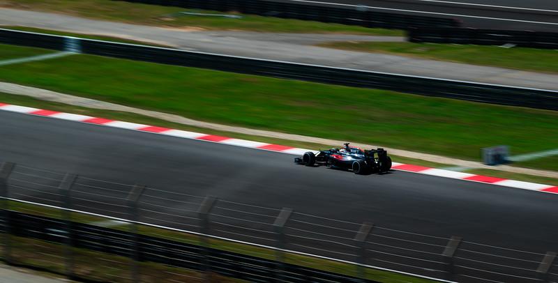 Fernando Alonso - Car 14 - MP4-31 - McLaren Honda