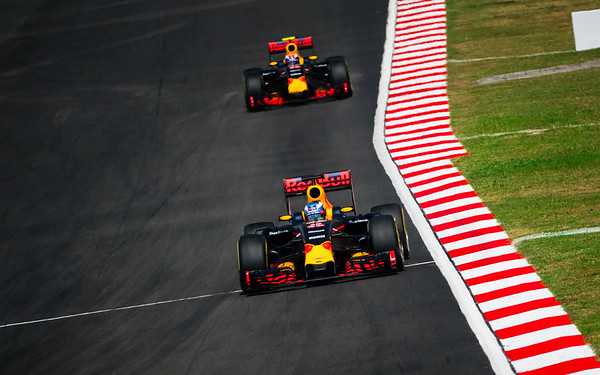 Daniel Ricciardo (Car 3) & Max Verstappen (Car 33) - RB12 - Red Bull Racing