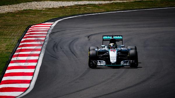 Lewis Hamilton - Car 44 - F1 W07 Hybrid - Mercedes