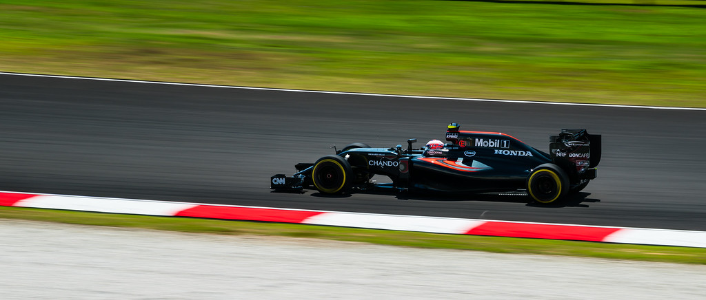 Jensen Button - Car 22 - MP4-31 - McLaren Honda