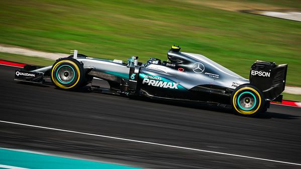 Nico Rosberg - Car 27 - F1 W07 Hybrid - Mercedes