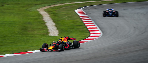 Max Verstappen (Car 33 - RB13 - Red Bull Racing) &  Pierre Gasly (Car 10 - STR12 - Toro Rosso)