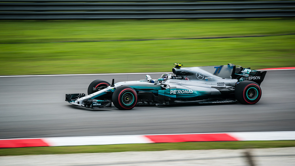 Valtteri Bottas - Car 77 - F1 W08 EQ Power+ - Mercedes