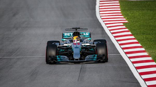 Lewis Hamilton - Car 44 - F1 W08 EQ Power+ - Mercedes