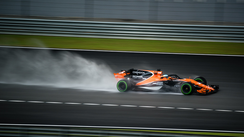 Alonso testing the Halo...