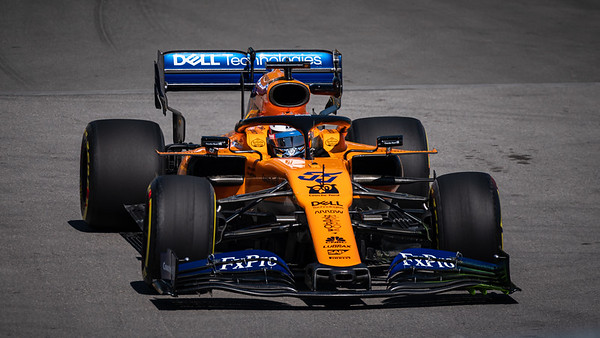Carlos Sainz Jr. - Car 55 - MCL34 - McLaren