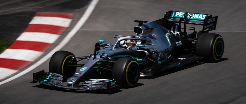 Lewis Hamilton - Car 44 - F1 W10 EQ Power+ - Mercedes