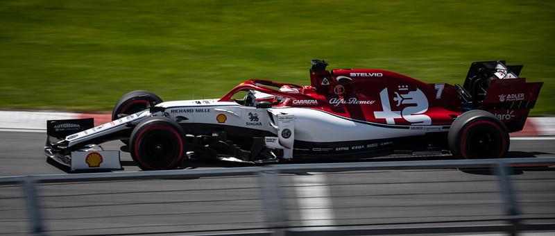 Kimi Räikkönen - Car 7 - C38 - Alfa Romeo
