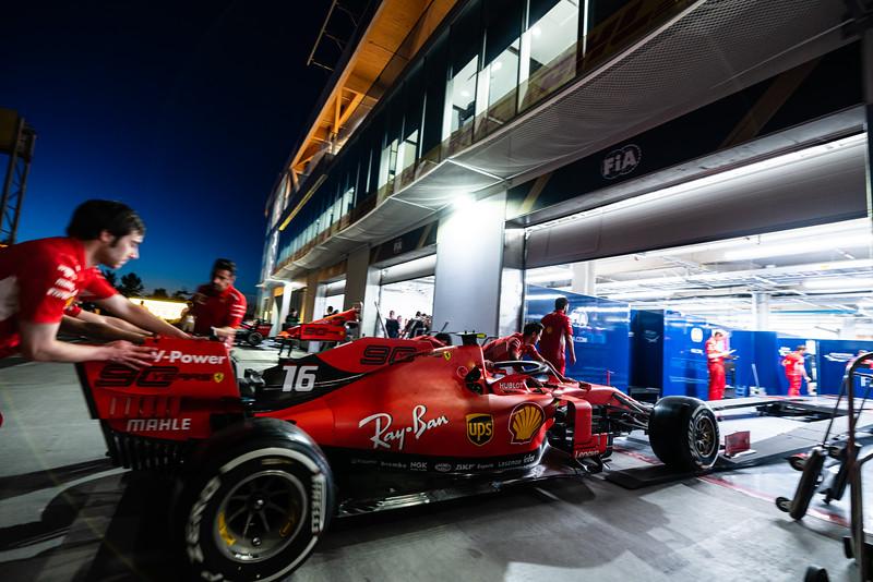 FIA Technical Inspection