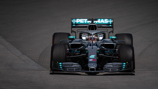 Lewis Hamilton - Car 44 - F1 W10 EQ Power+ - Mercedes