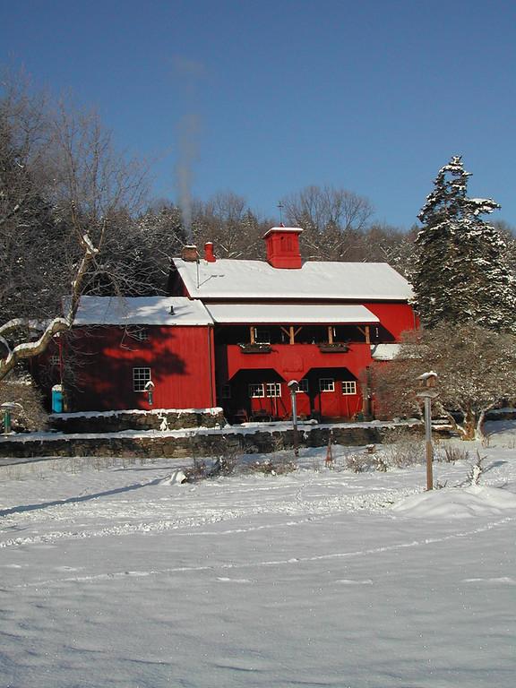 The Barn in winter