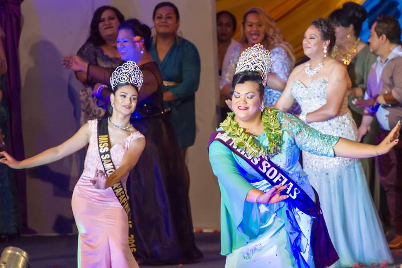 Miss Fa'afafine Samoa 2015 and Miss SOFIAS