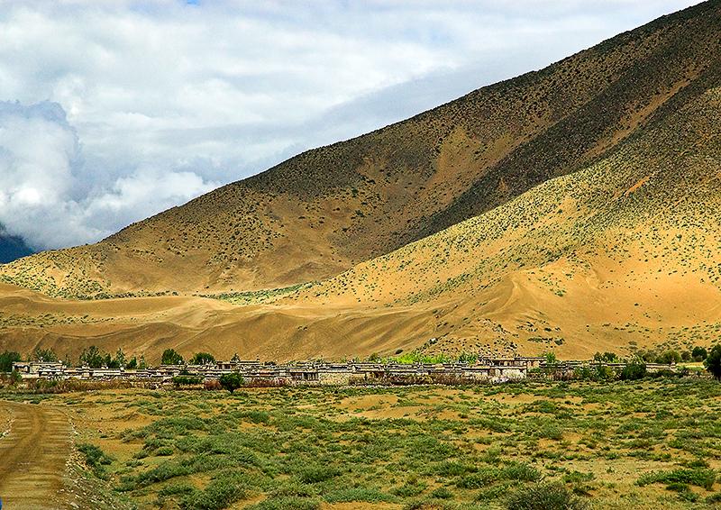 Tibetan Hill Town