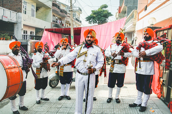 Indian Bagpipers