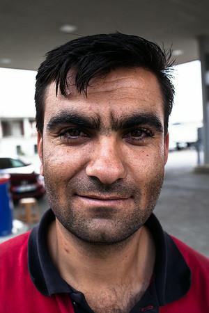 Naci, pump attendant (Turkey)