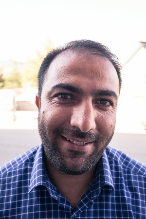 Ahmad, IT shop owner (Turkey)