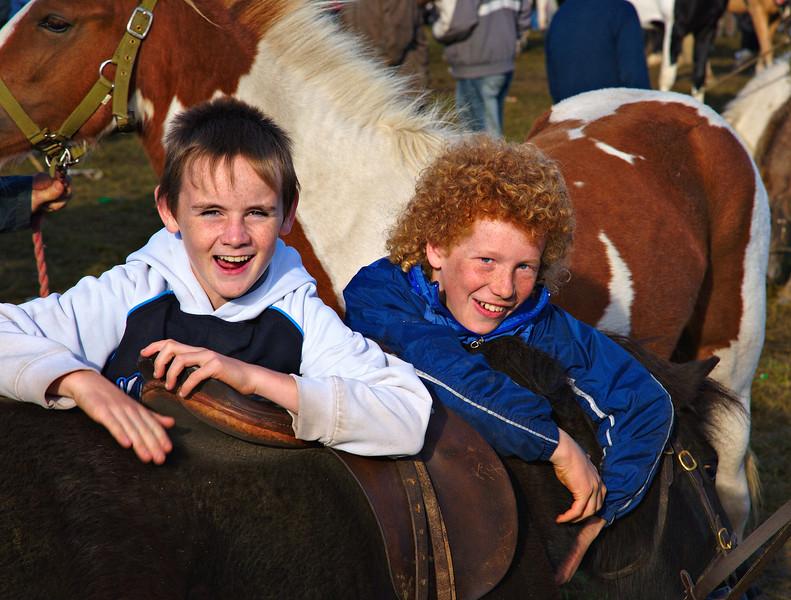 """Ballinasloe Horse Fair"""