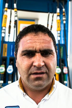 Baran, pump attendant (Turkey)