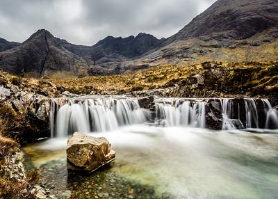 Fairy Pools, Glenbrittle, Isle of Skye, Highlands, Scotland