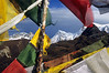 Prayer Flags Above Dzongri / Dzongri, West Sikkim, India