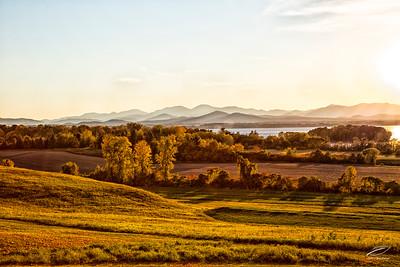 Sunset on The Adirondacks