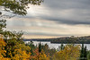 View over Lake of Bays from behind Dwight