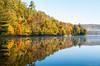 Reflections on Cooper Lake, near Dwight